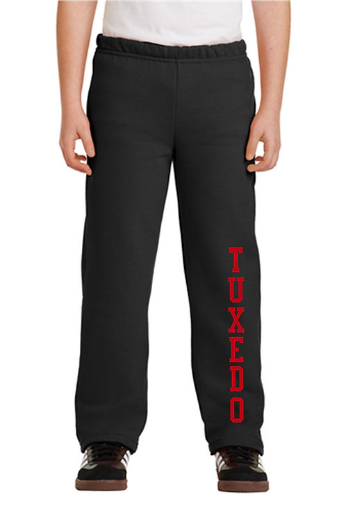 Tuxedo Open Bottom Sweatpants