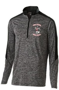 TJ Electrify 1/4 Zip With Embroidery
