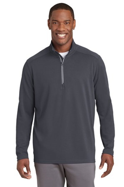 Sportwick 1/4 zip with embroidery or rhinestones