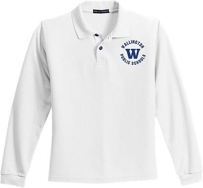 Wallington Long Sleeve Uniform Polo