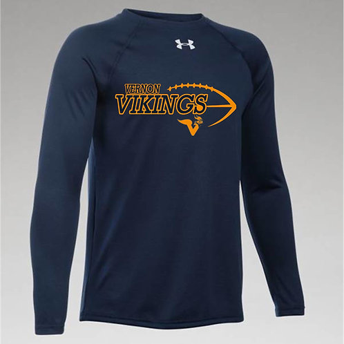 UA Mens Locker T Long Sleeve w/ 2 color logo
