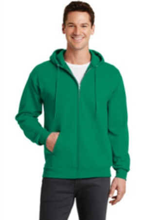 Ogdensburg zip up hoodie with embroidery
