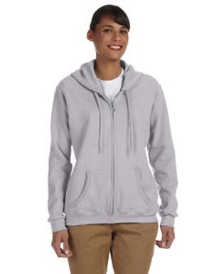Kadee's Gildan Ladies Zip Up Sweatshirt