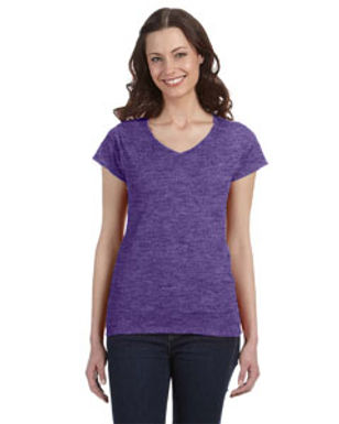 Kadee's Gildan Softsyle Ladies V Neck T
