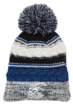 Roosevelt Pom Hat With Embroidery