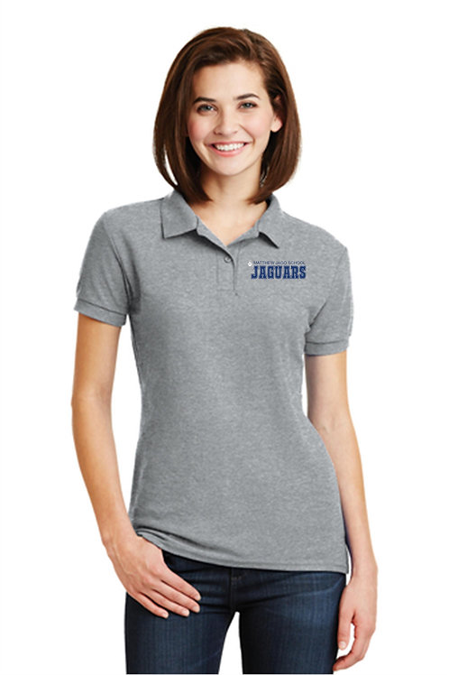 MJS Womens Knit Polo