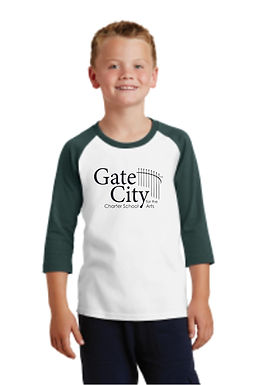 Gate City Augusta Raglan