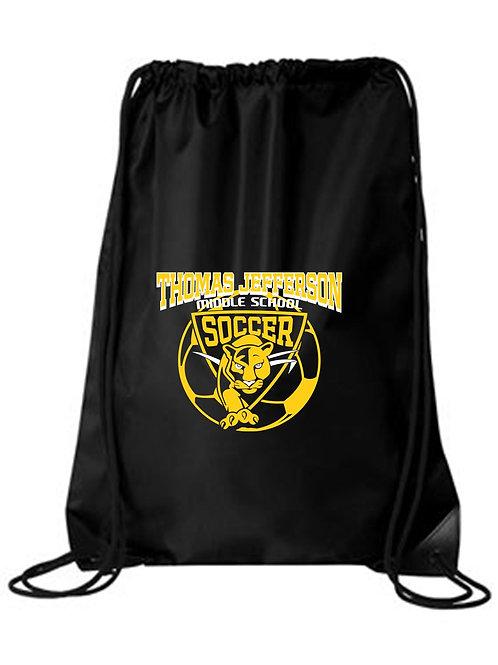TJMS Soccer Cinch Bag