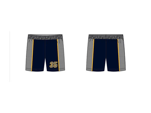 Vernon Sublimated Shorts