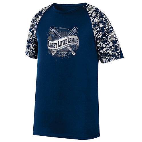 Lacey Digi Camo Wicking Shirt
