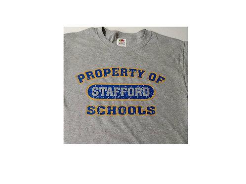 Stafford T Shirt w/ 2 color imprint