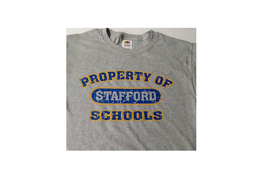 Stafford T Shirt w/ 2 color imprint