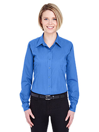 Ocean Acres Staff Ultra Club Button Down Womens Cut