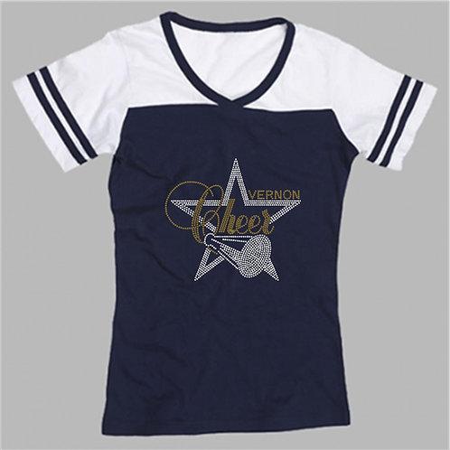 Vernon Cheer Powder Puff Shirt Choose Logo