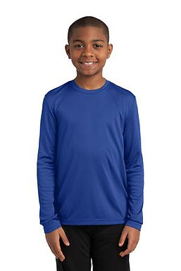 Intermediate School Long Sleeve Performance Shirt