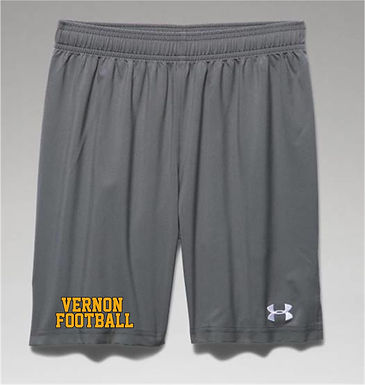 Boys' UA Hustle Shorts w/2color imprint