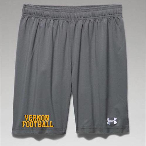 Boys' UA Hustle Shorts w/2color imprint
