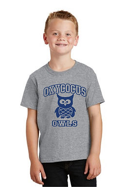 T Shirt with Oxycocus School Logo