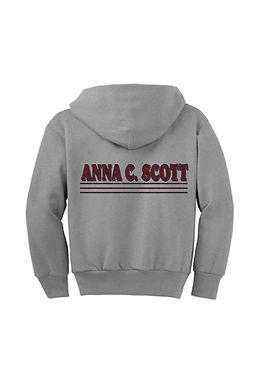 Anna C. Scott Zip Up Hoodies