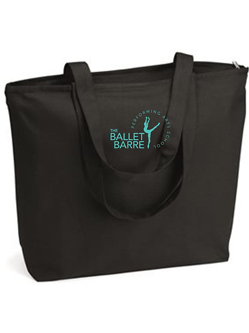 Ballet Barre Tote With Embroidery