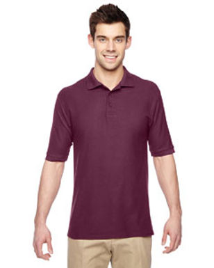 Franklin Short Sleeve Polo with embroidery