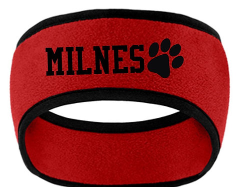 Milnes Headband With Embroidery