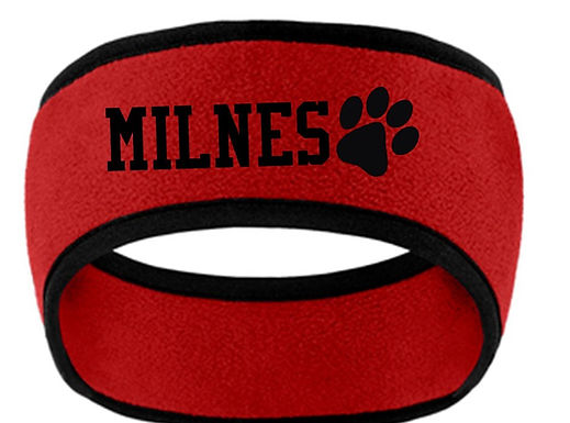 Milnes Headband With Embroidery