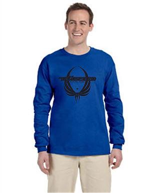 Titan Pegasus Long Sleeve T Shirt with Glitter Print