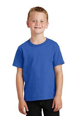 T Shirt with Glitter Ocean Acres School Logo