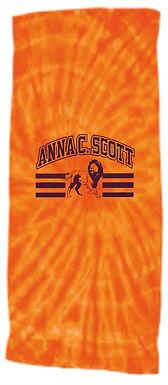 Anna C Scott Tye Dye Towel