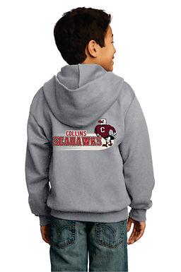 Collins Glitter Full Zip Sweatshirt