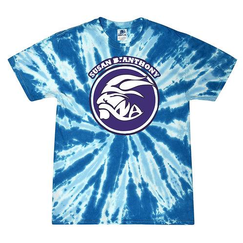 Susan B Antohny 3 color Tye Dye T