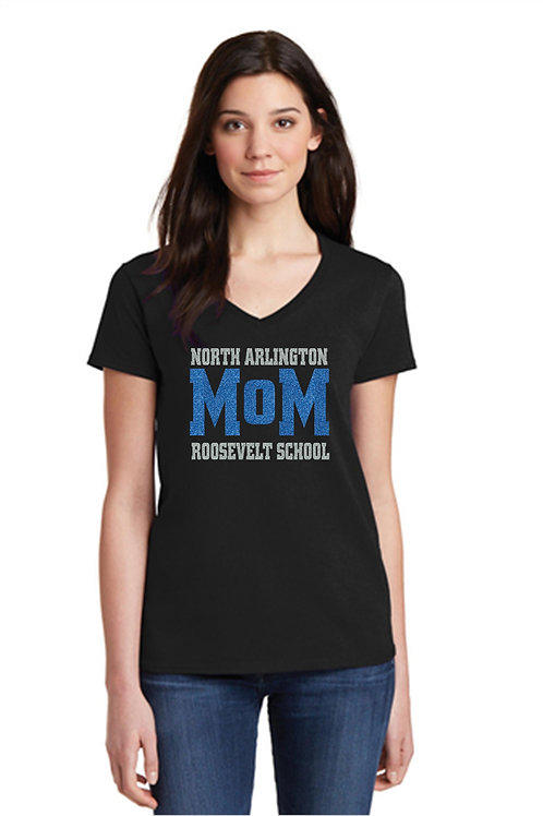 Roosevelt Glitter Mom Shirt