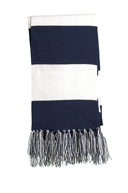 Eustis Scarf with Embroidery