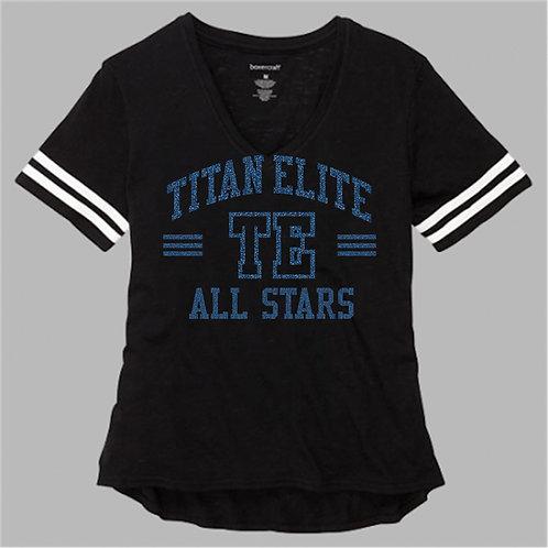Titan  Sporty Slub Glitter