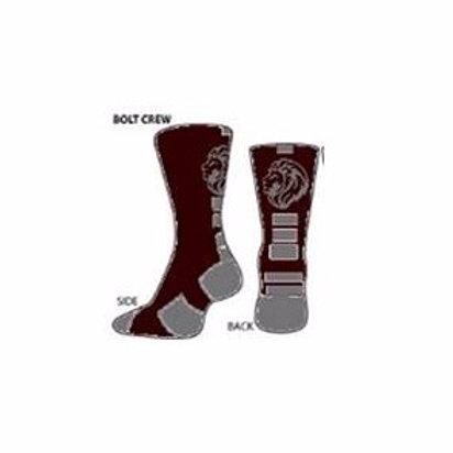 Leonia Custom Bolt Socks