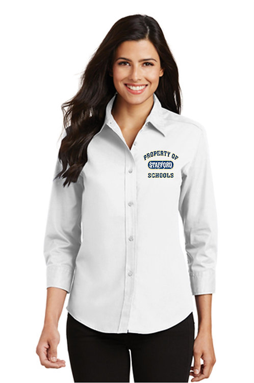 Ocean Acres Staff Button Down 3/4