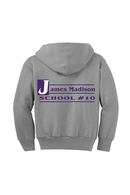 James Madison Zip Up Hoodie