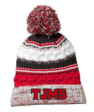 TJ Pom Hat With Embroidery