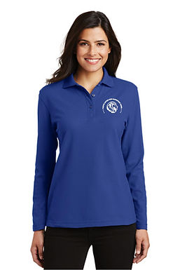 MLK Long Sleeve Polo Men's & Womens's With Emberoidry