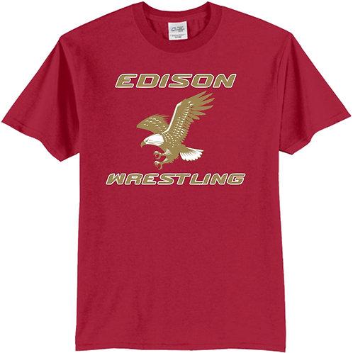 Edison Wrestling T Shirt