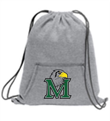 Meadowbrook Sweatshirt Cinch Bag