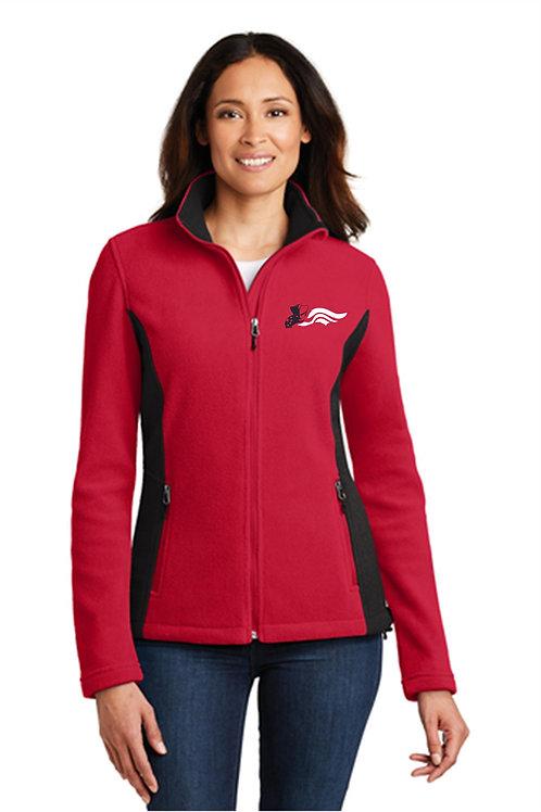 Wasington Community Colorblock Fleece Jacket Men's & Womens