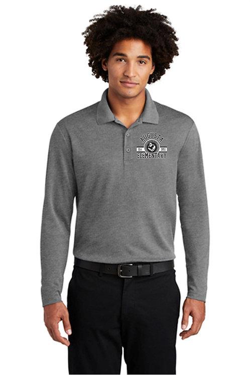 Augusta Staff Long Sleeve Polo