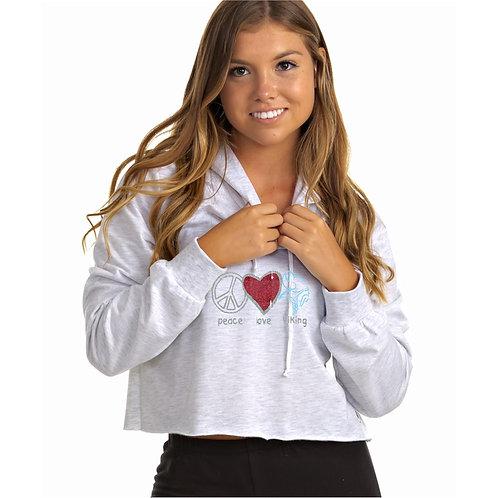 Pine Grove Soffe Crop Top Sweatshirt