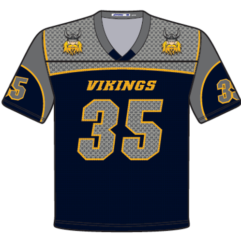 Vernon Sublimated Fanware Football Jersey