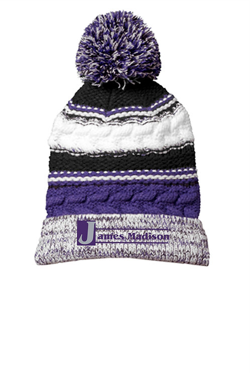 James Madison Pom Hat