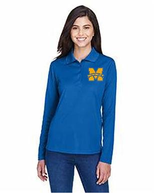 McKinley Staff 365 Core Polo Men's  Womens LS