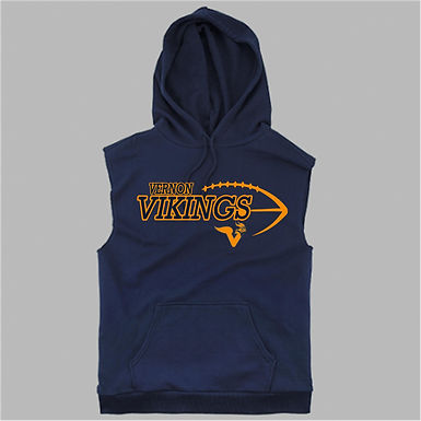 Vernon Boys Sleevless Trainer Hoodie Choose logo