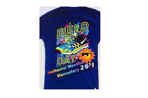 Nathaniel Woodhull Field Day Shirts
